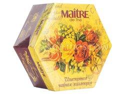 Чай Maitre Набор чая Букет Изысканная чайная коллекция в пакетиках 60 шт