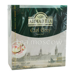 Чай Ahmad Tea Earl Grey с бергамотом в пакетиках 100шт х 2гр