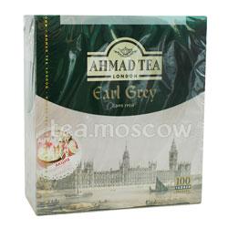 Чай Ahmad Tea Earl Grey с бергамотом в пакетиках 100шт х 2гр
