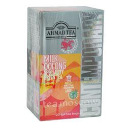 Чай Ahmad Tea Milky Oolong. Ахмад Молочный улун в пакетиках