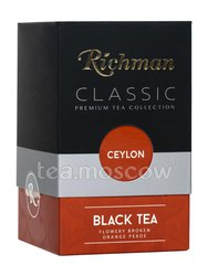 Чай Richman Classic Ceylon Orange Pekoe черный чай 100 г (Желтый)