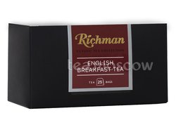Чай Richman Classic English Brekfast черный в пакетиках 25 шт