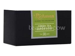 Чай Richman Classic  Green Tea with Mint, Lemon зеленый в пакетиках 25 шт