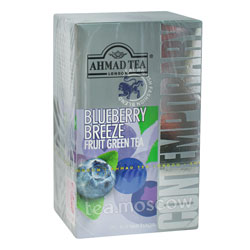 Чай Ahmad Tea Blueberry Breeze. Ахмад Блуберри бриз-голубика в пакетиках