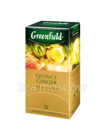 Чай Greenfield Quince Ginger Пакетики