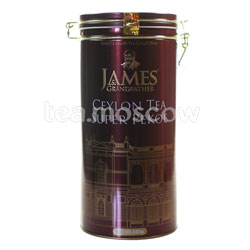 Чай James Grandfather Рекое Soure Tin. Черный, ж.б. 350 гр