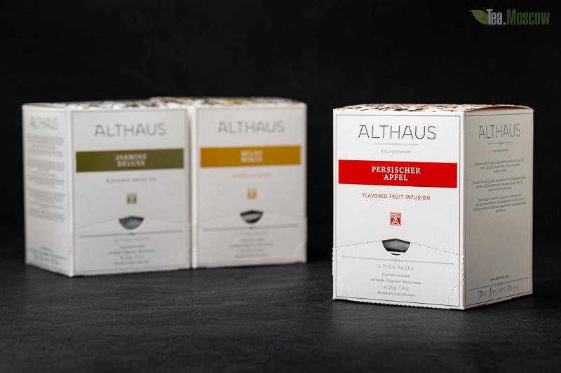 Чай Althaus листовой Golden Assam Sankar/Голден Ассам Санкар 250 гр