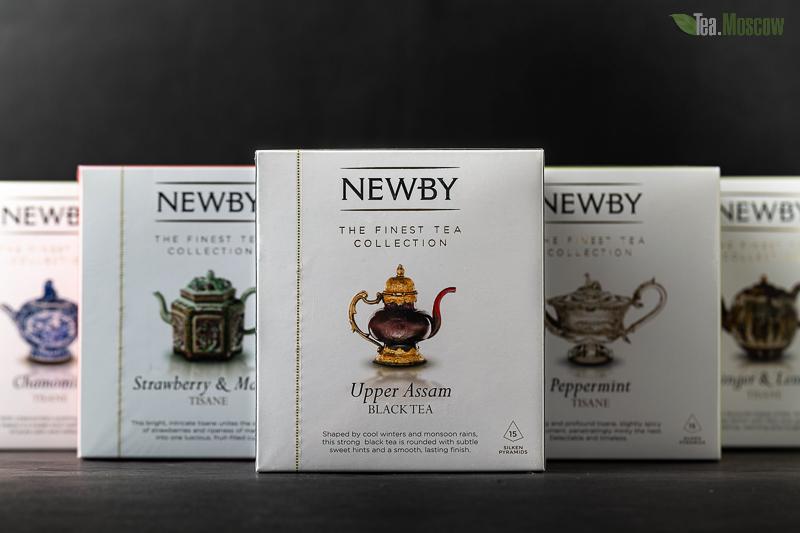 Чай пакетированный Newby Цейлон 25 шт