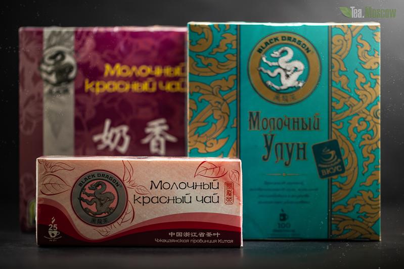Чай Черный Дракон Молочный Улун 25 пакетиков