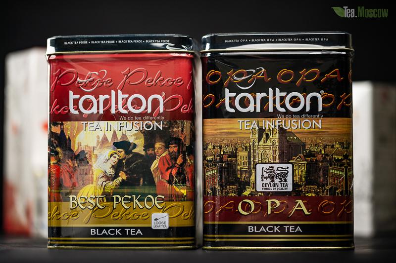 Чай Tarlton DUET Черно-Зеленый 250 гр